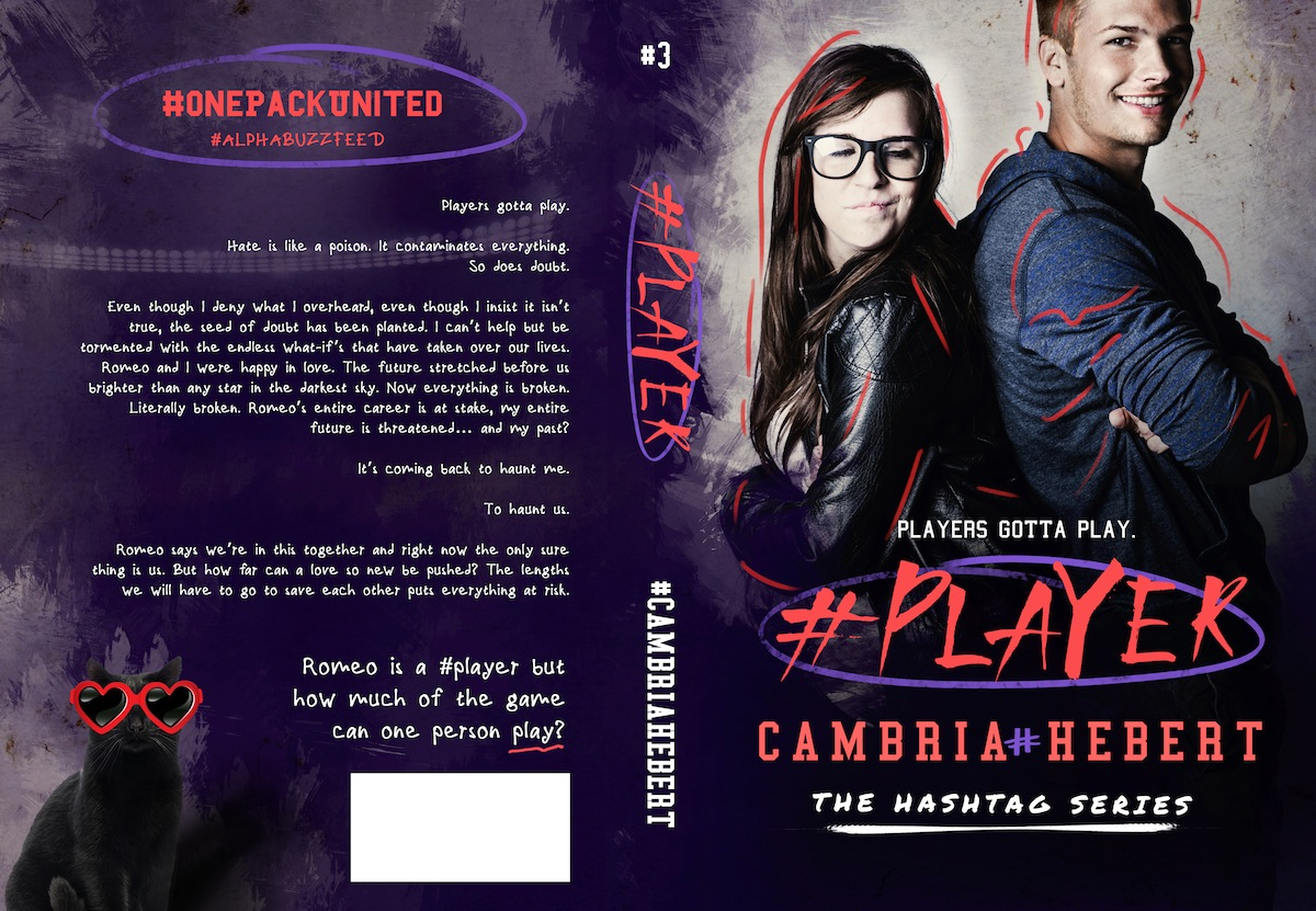 COVER REVEAL: #PLAYER by Cambria Hebert