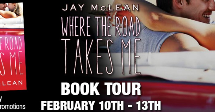 BLOG TOUR GIVEAWAY & REVIEW: WHERE THE ROAD TAKES ME by Jay McLean