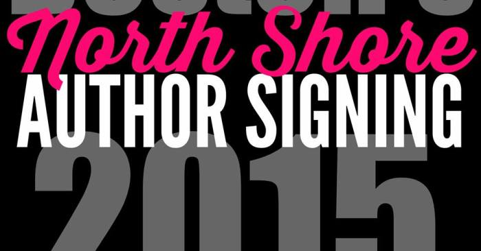 North Shore Author Signing 2015 & Giveaway
