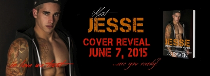 Cover Reveal: Jesse (Damage Control #2) by Jo Raven