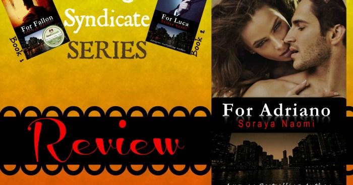 REVIEW: FOR ADRIANO by Soraya Naomi