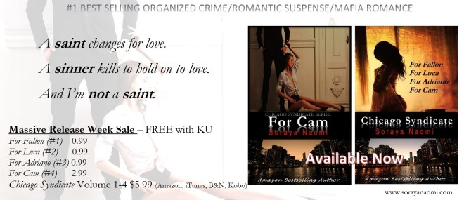 Release Day Banner For Cam (Chicago Syndicate 4) by Soraya Naomi (00000003)