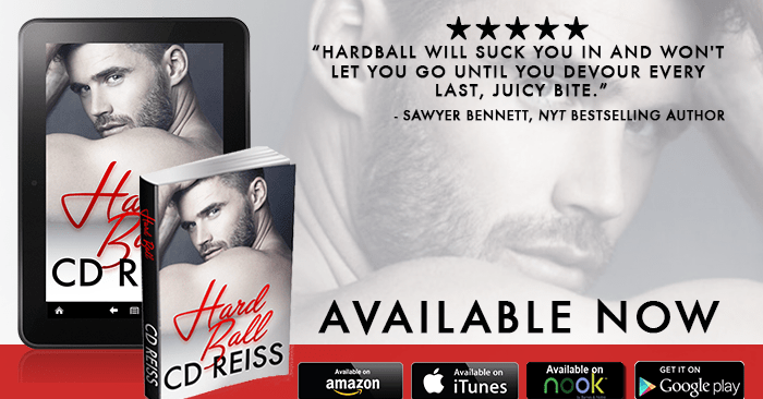 RELEASE BLITZ & GIVEAWAY: HARDBALL by CD Reiss