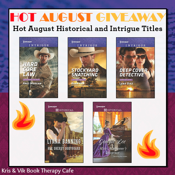 august harlequin giveaway