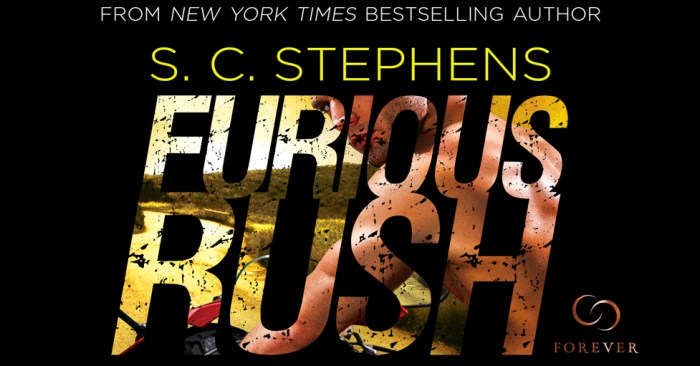 TOP 5, REVIEW & GIVEAWAY: FURIOUS RUSH by S.C. Stephens