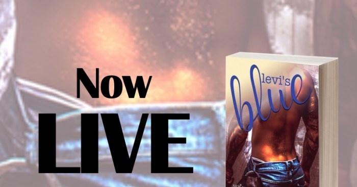 RELEASE BLITZ: LEVI'S BLUE by M. Leighton