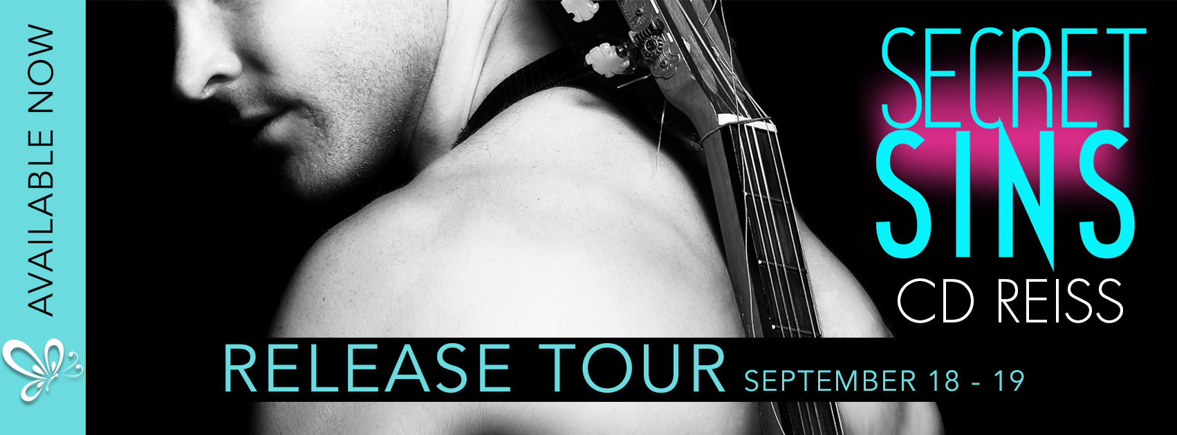 RELEASE BLITZ: SECRET SINS by CD Reiss