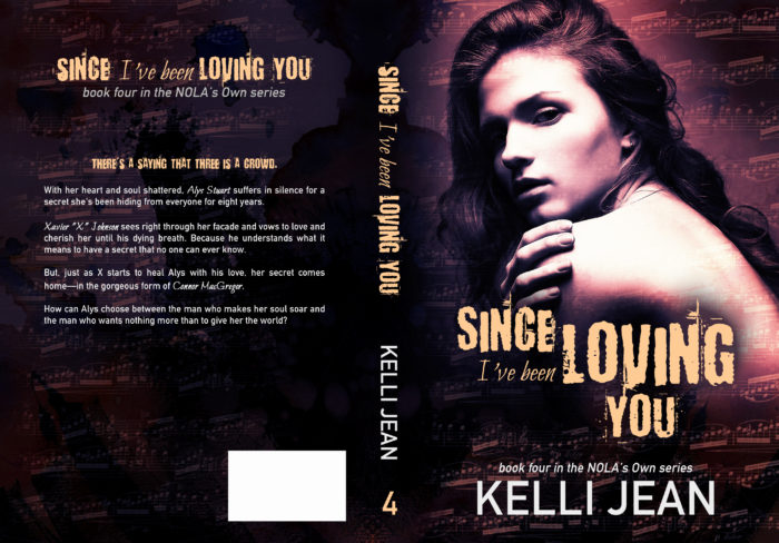 COVER REVEAL: SINCE I'VE BEEN LOVING YOU by Kelli Jean