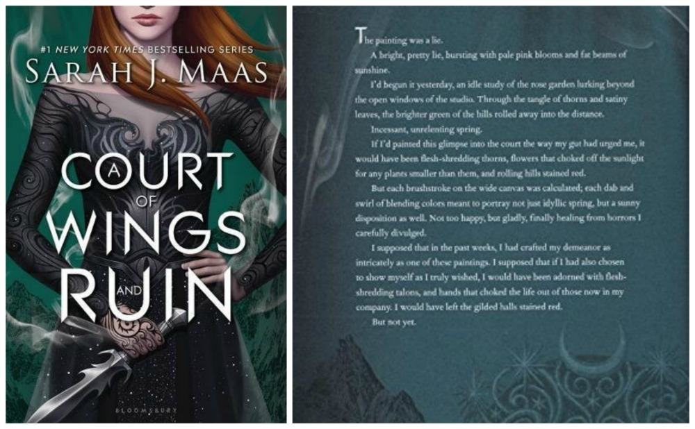 AUDIOBOOK REVIEW: A Court of Wings And Ruin By Sarah J. Maas