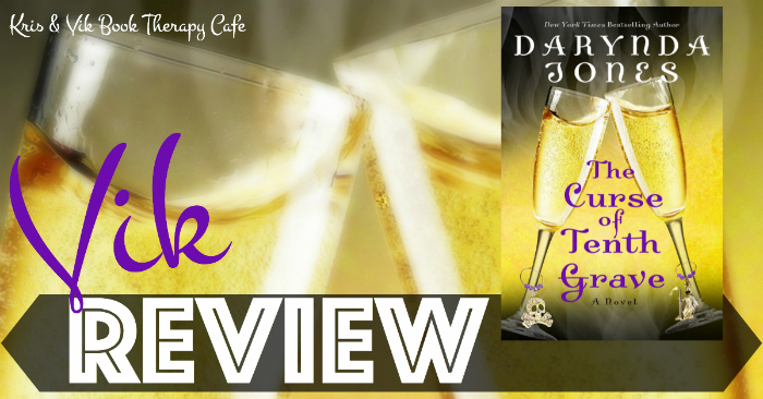 REVIEW: THE CURSE OF TENTH GRAVE by Darynda Jones