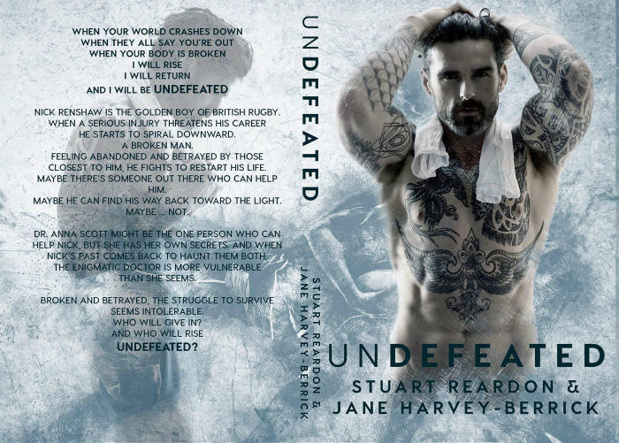 COVER REVEAL: UNDEFEATED by Stuart Reardon & Jane Harvey-Berrick