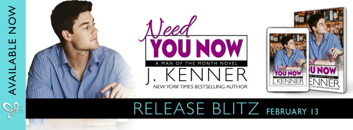 RELEASE BLITZ: NEED YOU NOW by J. Kenner