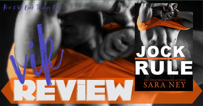 #NewRelease REVIEW: JOCK RULE by Sara Ney