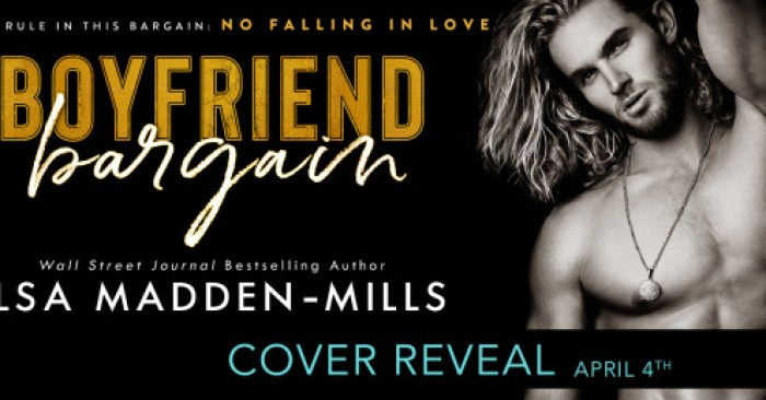 COVER REVEAL: BOYFRIEND BARGAIN by Ilsa Madden-Mills