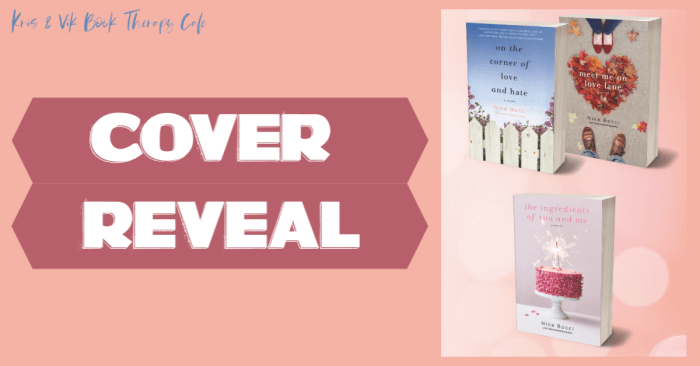 COVER REVEAL: HOPELESS ROMANTICS Series by Nina Bocci