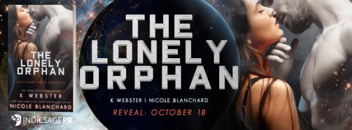 COVER REVEAL: THE LONELY ORPHAN by K Webster and Nicole Blanchard