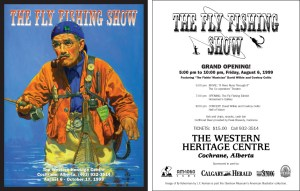 Fly Fishing Show Flyer
