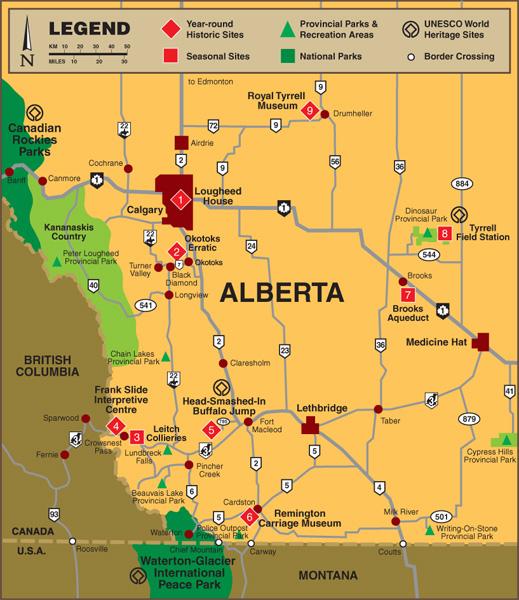 Alberta Historic Sites