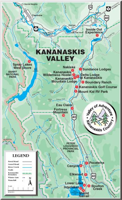 Kananaskis Valley of Adventure