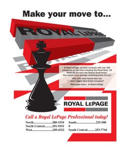 Royal Lepage Ad