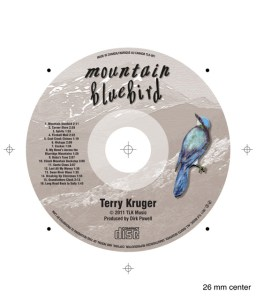 Terry Kruger Rocky Mountain Bluebird CD