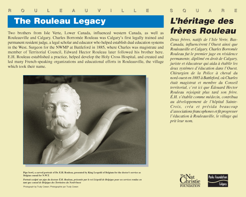 The Rouleau Legacy (1 in a series of 10 to match existing panels)