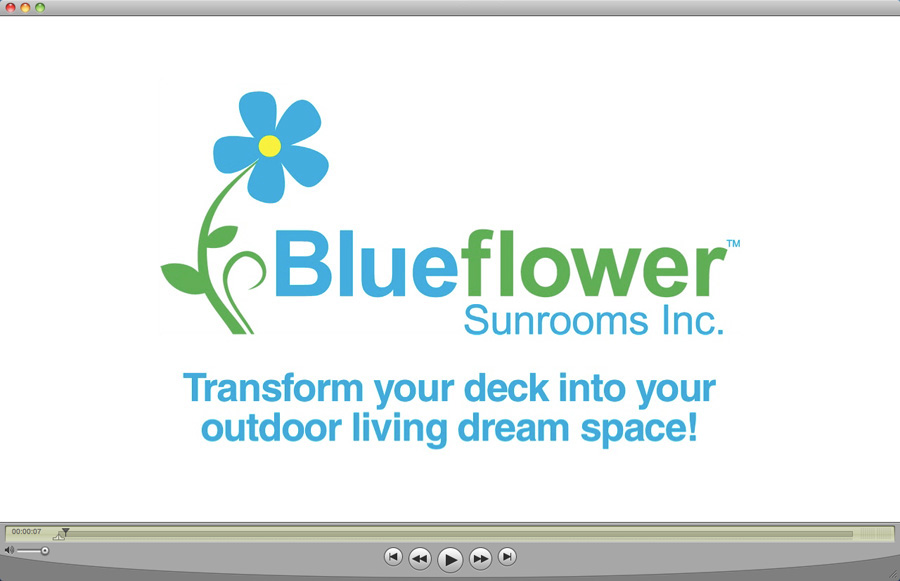 Blueflower Sunrooms Promotional Videos (3)