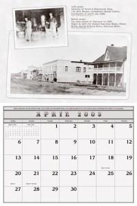 Cochrane Centennial Celebration Calendar