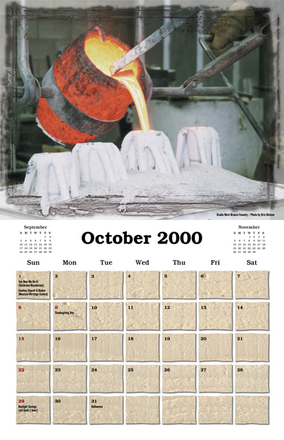 Cochrane 2000 Celebration of the Arts Calendar
