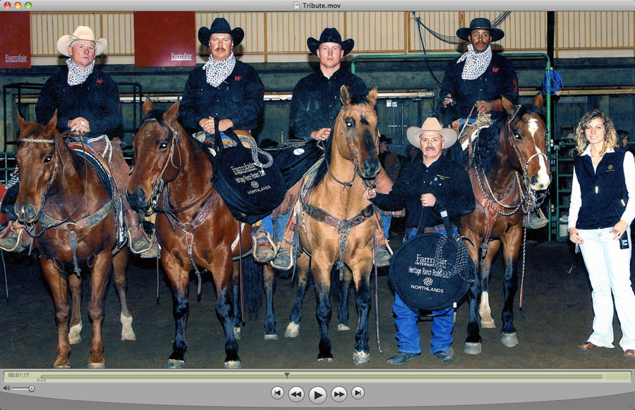 Canadian Rodeo Historical Association Hall of Fame Induction Ceremony (8 videos from 2006-2013)