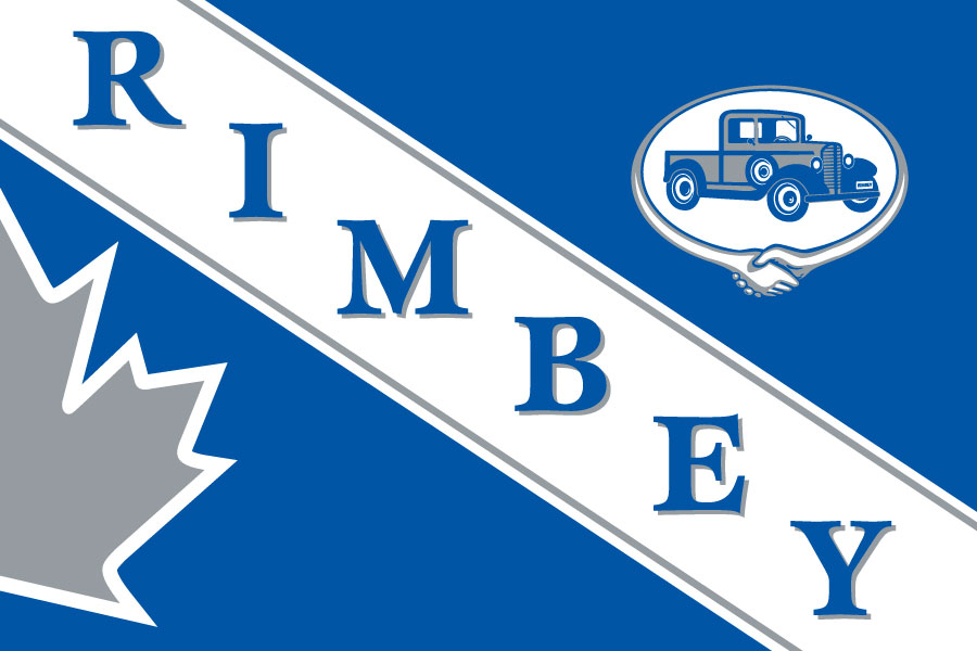 Town of Rimbey Flag