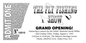 The Fly Fishing Show Tickets