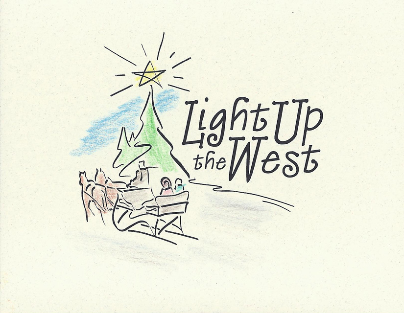 Light Up The West Invitation