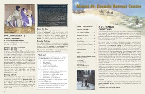 Mount St Francis Christmas Newsletter