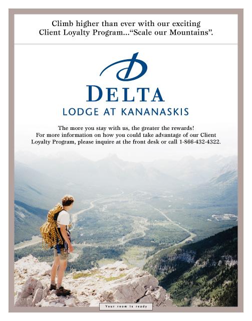 Delta Lodge at Kananaskis Customer Referral