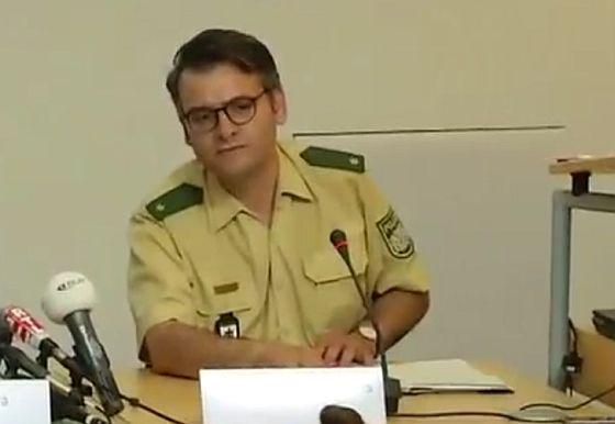 Marcus da Gloria Martins bei der Pressekonferenz heute (Screenshot von der Live-Übertragung)