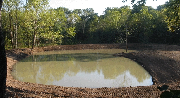 Man Made Pond Construction
