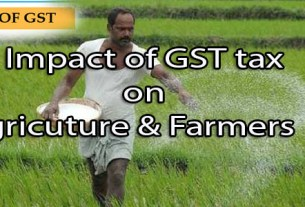 impact of gst on farmers