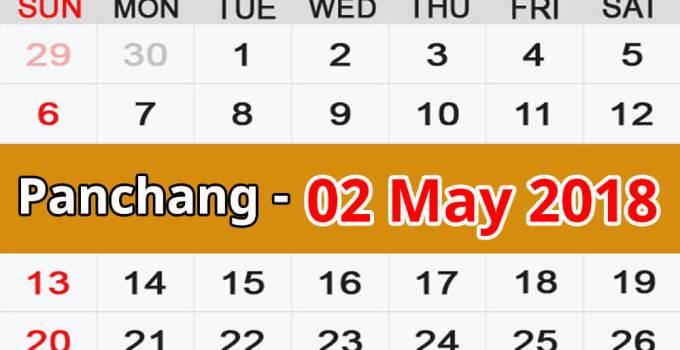 Panchang 02 May 2018