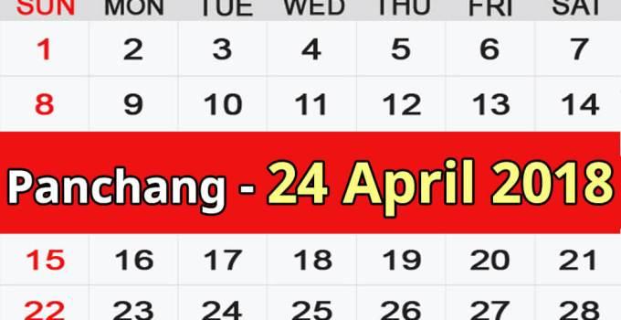 Panchang 24 April 2018