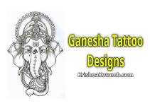 Lord Ganesha Tattoo Designs - Krishna Kutumb