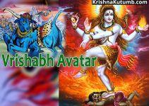 Vrishabh Avatar of Shiva - Krishna Kutumb