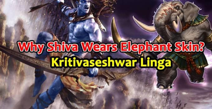 Why Shiva Wears Elephant Skin - Kritivaseshwar Linga - Krishna Kutumb