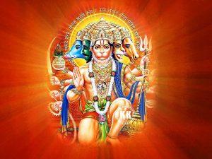Lord Hanuman Panchmukhi Images - Krishna Kutumb™