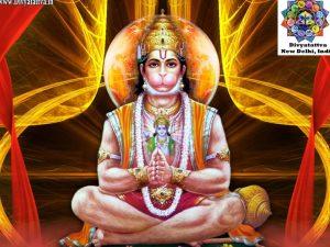 Picture of Hanuman God - Krishna Kutumb™