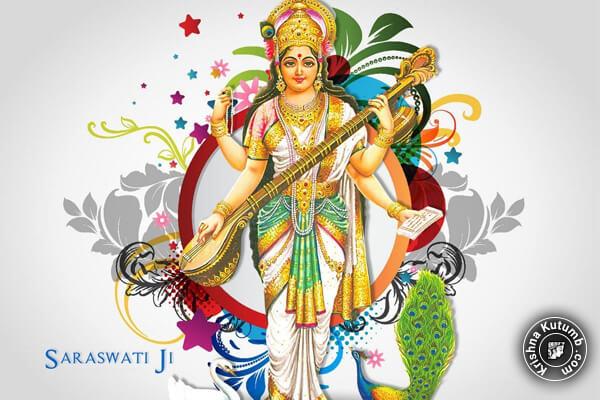Top 10 Maa Saraswati Images Trending in 2018 - Image number 10 - Krishna Kutumb