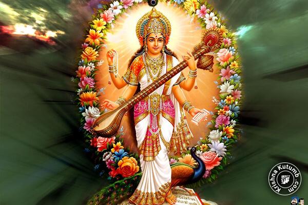 Top 10 Maa Saraswati Images Trending in 2018 - Image number 6 - Krishna Kutumb
