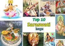 Top 10 Saraswati Images - Krishna Kutumb