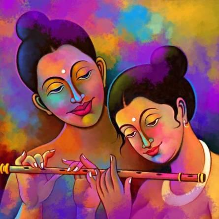 radha krishna image