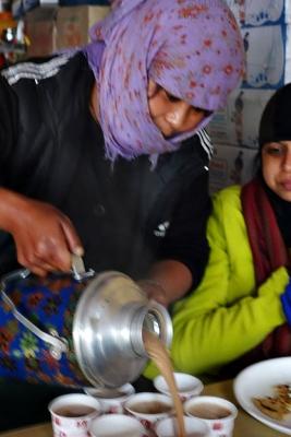 The bhojanalay efficient lady